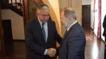 MUSTAFA AKINCI - Başbakan Yardımcısı Akdağ, KKTC Cumhurbaşkanı Akıncı İle Görüştü