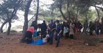 Çanakkale'de 74 Kaçak Yakalandı