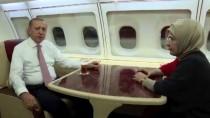 EMINE ERDOĞAN - Cumhurbaşkanı Erdoğan'dan Uçakta 'Ramazan Ayı' Mesajı