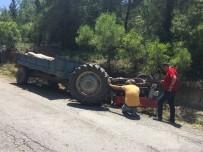 İNŞAAT MALZEMESİ - Dalaman'da Traktör Devrildi Açıklaması 1 Ölü