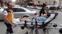 PAMUKKALE - Denizli'de Trafik Kazası Açıklaması 1 Yaralı
