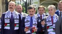 EKMELEDDİN İHSANOĞLU - Filistin Büyükelçiliğine Destek Ziyaretleri