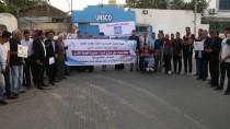 GÜVENLİK KONSEYİ - Gazze Şehitleri Anısına Mum Yakıp İsrail'i Protesto Ettiler