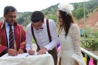 HARMANKAYA - Harmankaya Kanyonu Tabiat Parkı'nda Nikah Kıydılar