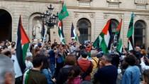 BARCELONA - İspanya'dan İsrail Karşıtı Eylem