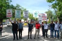 PEYGAMBER - İsrail'in Kudüs'teki Katliamı Keşan'da Da Protesto Edildi