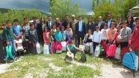 TAŞIMALI EĞİTİM - Kaymakam Kırlı'dan Öğrencilere 'Geçmiş Olsun' Ziyareti