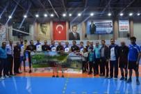 DAMAT İBRAHİM PAŞA - 'Koşabiliyorken Koş' Kurumlar Arası Voleybol Turnuvası Sona Erdi