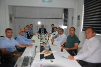 HAKKı UZUN - Kumluca'da Seçim Güvenliği Toplantısı