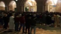 BATI ŞERİA - Mescid-İ Aksa'da İlk Teravih Kılındı