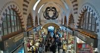 BALIK PAZARI - Mısır Çarşısı'nın Sembolü 'Vav' Havadan Görüntülendi