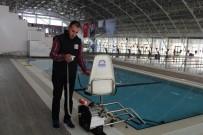 ENGELLİ ASANSÖRÜ - Olimpik Yüzme Havuzuna Engelli Asansörü