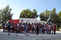 İLKAY - Özel Öğrenciler Üniversiten Mezun Olup, Kep Giydi