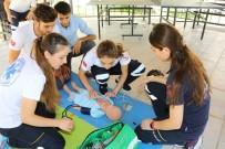 MEDIKAL - Paramedik Öğrencileri Zamanla Yarıştı