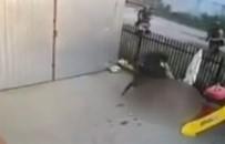 SİLAH TİCARETİ - Polisi Kapısında Görünce Camdan Düştü
