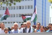CAN GÜVENLİĞİ - Seyhan Belediyesi Çalışanları İsrail Ve ABD'yi Protesto Etti