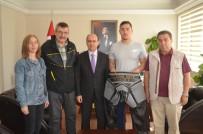 BAŞPEHLİVAN - Sökeli Genç Güreşçiye Kispet Desteği