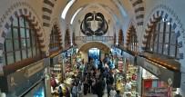 BALIK PAZARI - Tarihi Mısır Çarşısı'nın Sembolü  'Vav' Havadan Görüntülendi