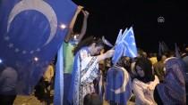 GÖKKAYA - Türkmen Göstericiler Gece Nöbetlerine Devam Ediyor