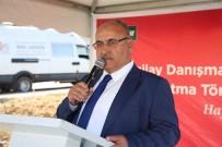 TEMEL ATMA TÖRENİ - Ümraniye'de Yeşilay Danışmanlık Merkezi'nin (YEDAM) Temel Atma Töreni Gerçekleştirildi