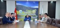 Vali Çınar, Orman Bölge Müdürlüğü'nde Toplantıya Katıldı