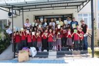 KİTAP OKUMA - Yunusemre'de Bisikletçilerden Kitap Kardeşliği