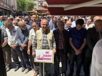 GIYABİ CENAZE NAMAZI - Yüzlerce Kişi Polatlı'da İsrail'i Protesto Etti