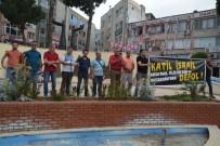 PROVOKASYON - Aliağa'da İsrail Protestosu