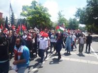 MAHMUT ARSLAN - Ankara'da Binlerce Kişi İsrail Ve ABD'yi Protesto Etti