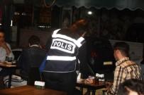 EĞLENCE MEKANI - Antalya'da Yabancı Uyruklu Aranan Şahıslara Yönelik Uygulama