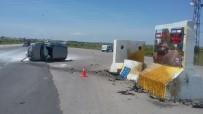 EMEKLİ ÖĞRETMEN - Biga'da Trafik Kazası Açıklaması 1 Yaralı