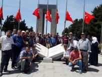 ÇANAKKALE ŞEHITLERI - Çifçilerden Çanakkale Gezisi