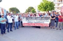 PROVOKASYON - Didim'de İsrail Protestosu