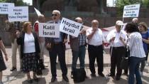 ENGELLİLER KONFEDERASYONU - Engelliler İsrail'i Protesto Etti