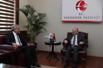 ÖZDEMİR ÇAKACAK - EOSB Yönetim Kurulu Vali Özdemir Çakacak'ı Ziyaret Etti