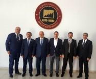 İŞ MAKİNASI - GAİB Halı İhracatçılar Birliğinden GSO-MEM'e Ziyaret