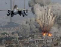GAZZE - İşgalci İsrail Hamas'a ait askeri noktaları vurdu