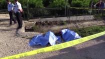 Kanala Devrilen Motosikletteki İki Kişi Öldü