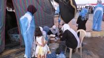 KERKÜK - Kerkük'te Türkmenler İlk İftarlarını Gösteri Alanında Açtı