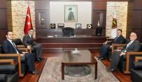 MEHMET UZUN - Kurum Müdürlerinden GSO'ya Hayırlı Olsun Ziyaretleri