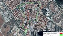 ZÜBEYDE HANıM - Menteşe'de Ana Cadde 3 Gün Trafiğe Kapanıyor