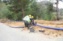 PıNARLAR - MESKİ, Anamur'da Alt Yapı Çalışmalarını Sürdürüyor