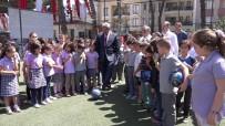 MEHMET ÖZMEN - Nazilli Belediyesi, Cumhuriyet İlkokuluna Halı Saha Kazandırdı