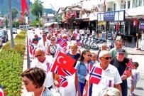 MİLLİ BAYRAM - Norveç Milli Bayramı Kemer'de Kutlandı