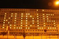 AFYONKARAHISAR - Öğrenciler Yurdun Işıklarıyla 'Kudüs' Yazdı