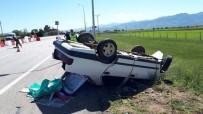 YARıMCA - Otomobil Takla Attı Açıklaması 6 Yaralı