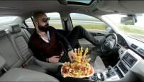 FENOMEN - Trafikte Meyve Tabağı Ve Tespihle Seyreden Sürücü Gözaltına Alındı