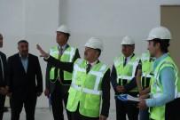 MUTTALIP - Vali Çakacak 112 Komuta Kontrol Merkezi İnşaatını Denetledi