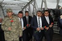 93 HARBİ - '93 Harbi Şehitleri' Anısına Kura Nehrine Karanfil Bırakıldı