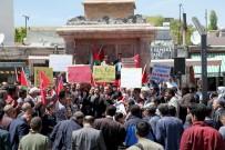 BÜYÜK FELAKET - Ahlat'ta 'Kudüs' Protestosu
